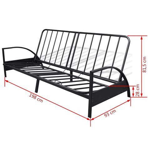 sofa cama plegable sof 225 cama plegable de metal vidaxl es