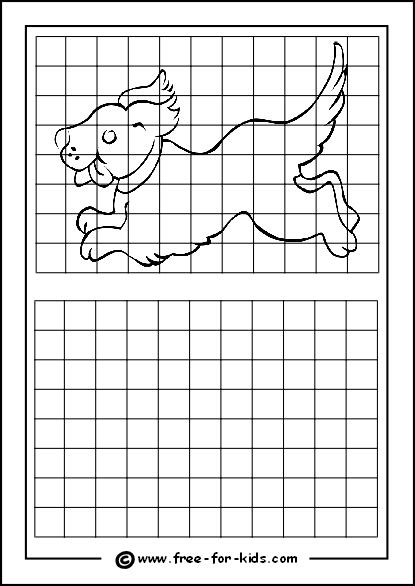 Drawing Grid by Pin Grid Drawing Worksheets On