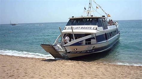 boat trips costa brava boats on the beach lloret de mar costa brava spain