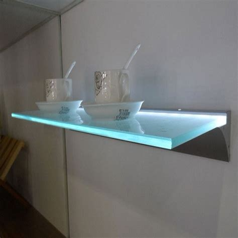 Glass Floating Shelf by Functional Floating Shelves For Home Ultimate Home Ideas