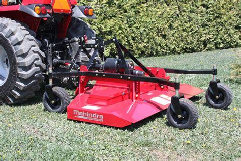mahindra finish mower add to cart