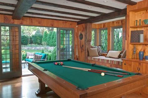 Turn Living Room Into Pool Creating The Billiards Room For Your Space