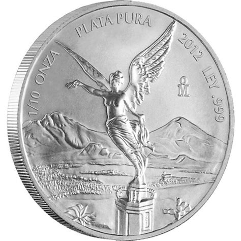 10 Oz Silver Eagle Coin by Silver Bullion Coin Mexican Libertad 2012 1 10 Oz