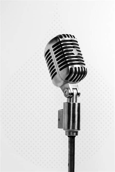 microphone stand tattoo vintage microphone on stand pinteres