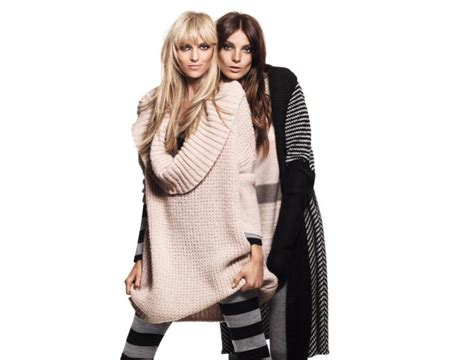 Werbowy Models For Hm by Anja Rubik And Werbowy For H M Get Warm