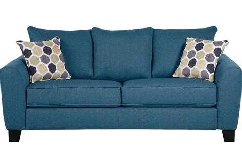 Mirrors Home Decor by Bonita Springs Blue Sofa Sofas Blue