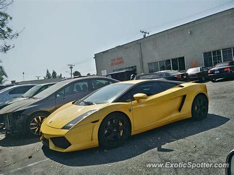 Lamborghini California Lamborghini Gallardo Spotted In Walnut California On 07