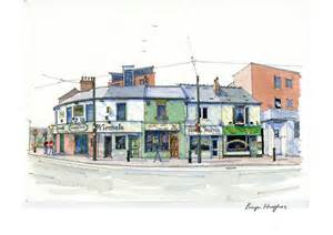 What Style Of Architecture Is My House bryn hughes award winning sheffield artist watercolour