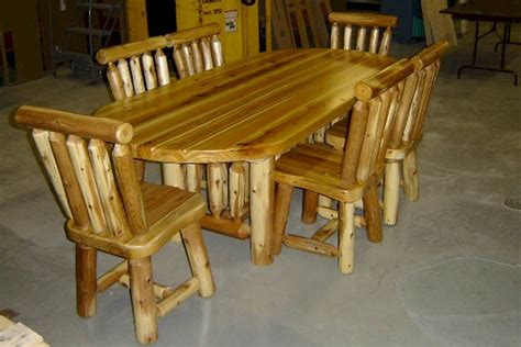 rectangular cedar log dining table log dining room oval cedar log dining table set solid cedar oval log
