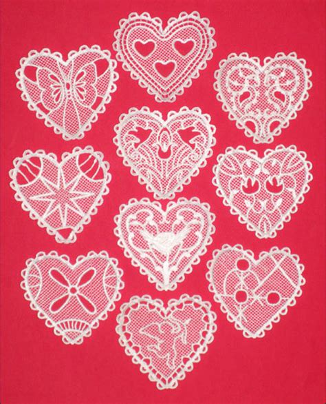 heart pattern lace how to make heart lace cr 234 pes pretty prudent