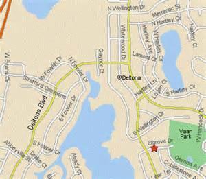 deltona florida map city of deltona fl vann park