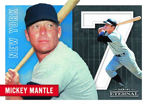 cool mickey mantle baseball cards coming back through