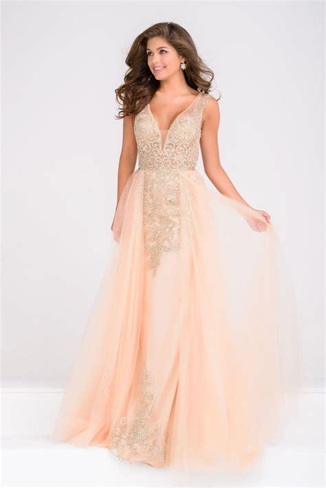 prom dresses jvn by jovani jvn41677 prom dress prom gown jvn41677