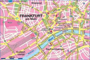 Frankfurt Germany Map by Map Of Frankfurt Germany