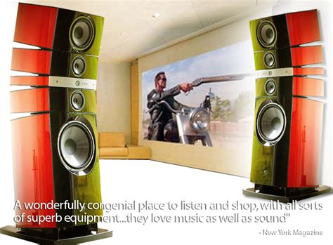 high end sound by singer high end audio high end video new york