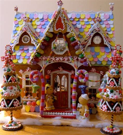gingerbread home decor candyland christmas door decoration how to make fake