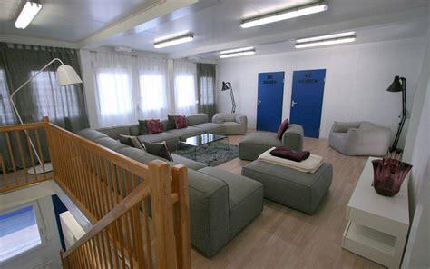 Containerbauten F 252 R Studenten Wohnungen