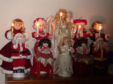 christmas motionettes animated doll i also repair telco motionettes stephens doll