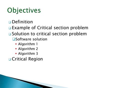 critical section operating system critical section