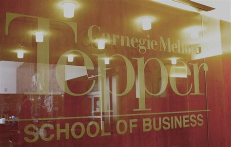 Carnegie Mellon Mba Invitation by Carnegie Mellon Tepper School Jendoco