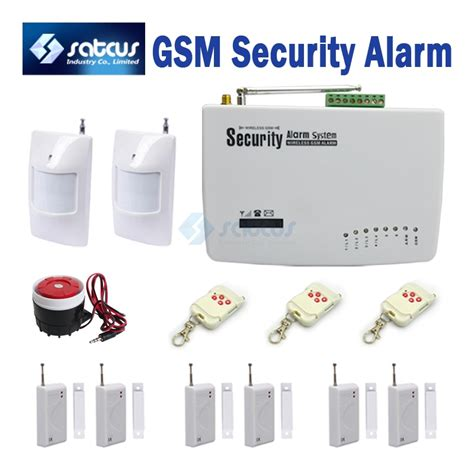 6 door sensors gsm alarm intelligent alarm systems auto