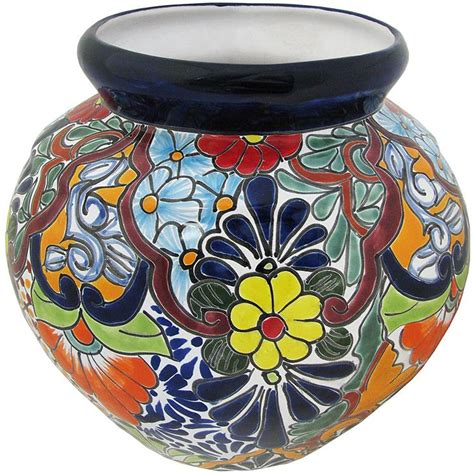 Mexican Wall Planters by Talavera Planters Collection Talavera Wall Planter Tp320