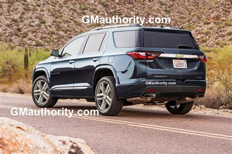 2019 chevrolet blazer spied gm authority