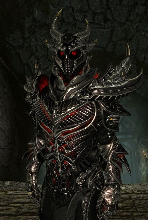 skyrim daedric armor and weapons daedric armor weapons s t e p project wiki