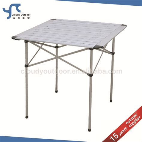 small fold up table roll up small aluminum fold up cing table buy fold up