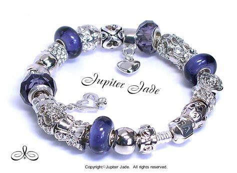 authentic pandora silver charm bracelet authentic pandora silver charm bracelet w european charms