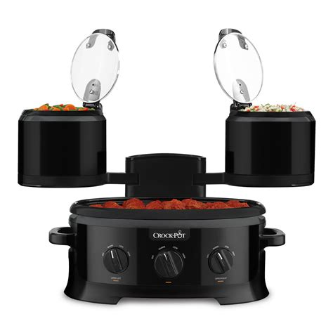 crock pot 174 swing and serve cooker sccptower b