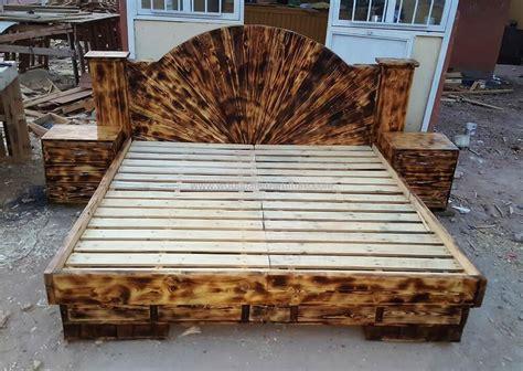repurposed wooden pallets beds wood pallet furniture