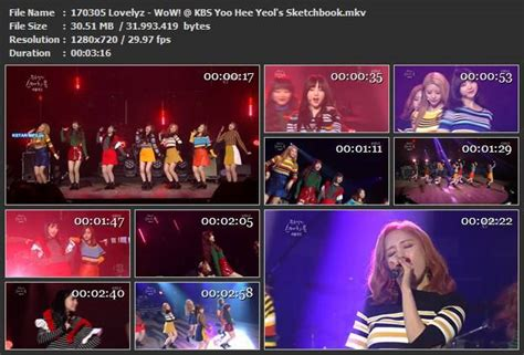 sketchbook kbs lovelyz wow kbs yoo hee yeol s sketchbook