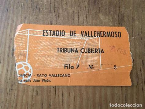 entradas rayo vallecano deportivo r2851 entrada ticket rayo vallecano valencia es comprar