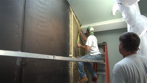 soundproofing a condo stairwell to reduce the noise from