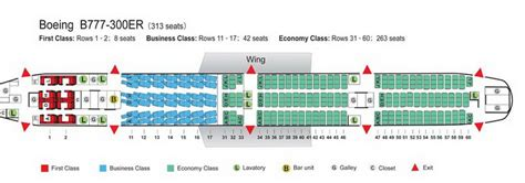 777 300er seat map air china airlines aircraft seatmaps airline seating