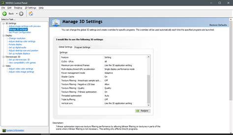 Vga Untuk Dota 2 cara setting dota 2 untuk meningkatkan fps saat bermain agar tidak lag patah patah nvidia