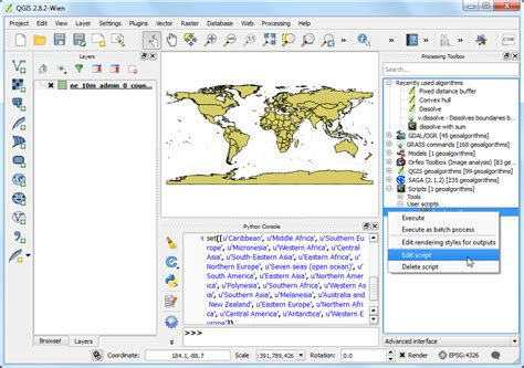 qgis dissolve tutorial writing python scripts for processing framework qgis
