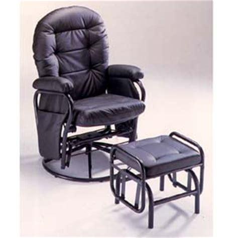 black glider rocker with ottoman recliner chairs and ottomans black color glider rocker
