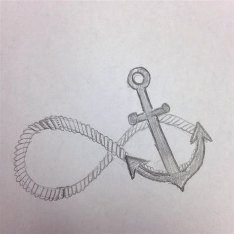 anchor and infinity sign how to draw an anchor infinity sign snapguide