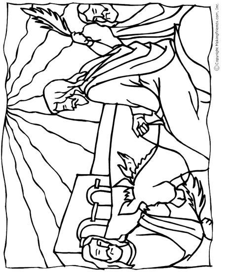 coloring page of jesus on palm sunday jesus palm sunday coloring page free kids crafts