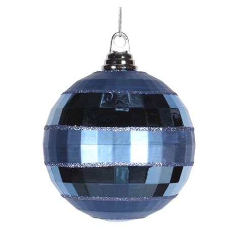 light blue christmas tree ornaments