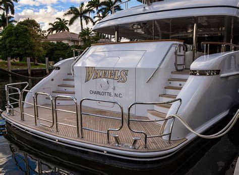 Yacht Metal custom metal work on superyacht quot wheels quot