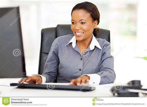 employ 233 de bureau africain photo stock image du ethnicity