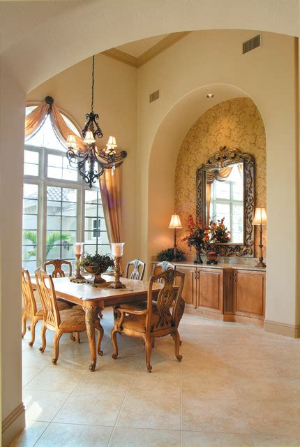 stylish dining room designs  mediterranean style