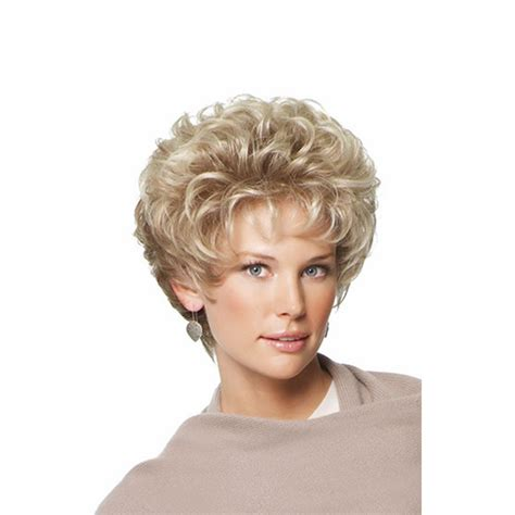 wigsfor old broads medusa wig classic pixie synthetic wigs short curly hair