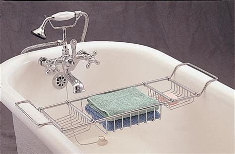 clawfoot bathtub caddy clawfoot tub caddies enhance your relaxation time