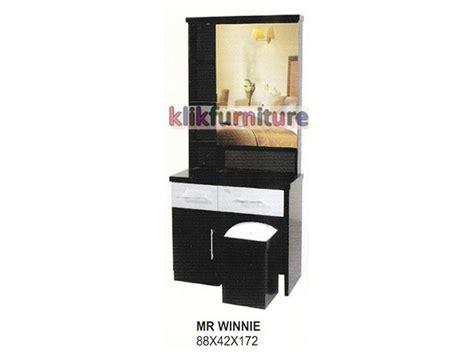 Meja Rias Warna harga meja rias kayu warna hitam winnie cms distributor