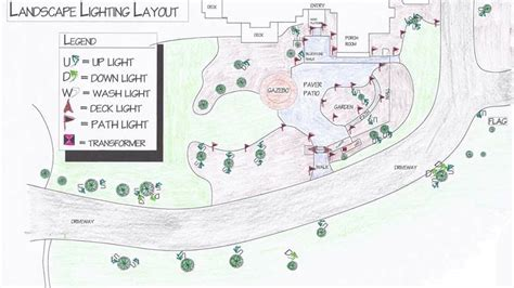 landscape lighting layout landscape lighting design landscape lighting specialist