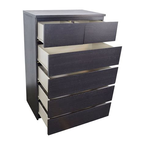 Malm 6 Dresser by 45 Malm 6 Drawer Dresser Storage